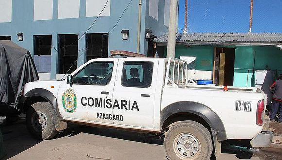 Azángaro: delincuentes asaltan con chaleco de policías en carretera