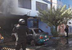 Arequipa: Salvan de incendio a una tortuga y dos personas quedan heridas (FOTOS)