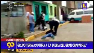 """Santa Anita: Capturan a """"La Jauría del Gran Chaparral"""" con 720 envoltorios de cocaína"""