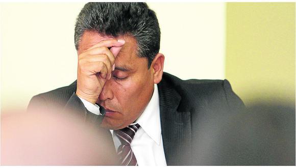 Fiscalía pide prisión para gobernador regional de Junín, Ángel Unchupaico