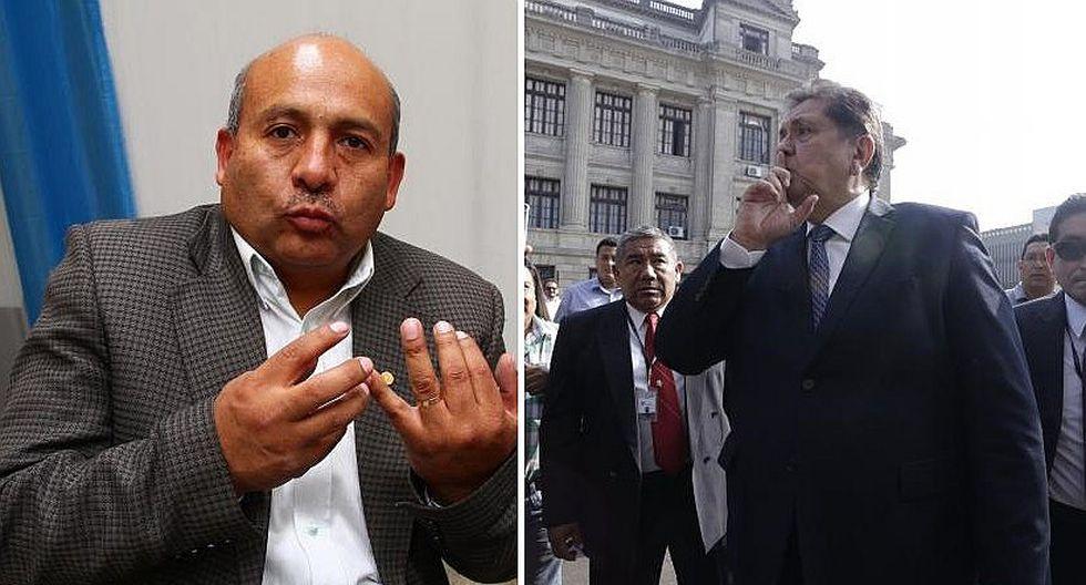 Moisés Guía: La opinión de Alan García está al nivel de los delincuentes ¿Quién es él?
