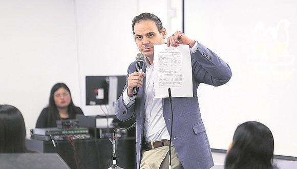 Segunda Sala Penal de Apelaciones resolverá impedimento de salida del país de Mark Vito
