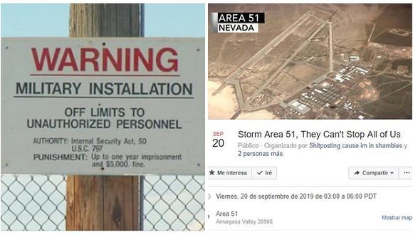 Fuerza Aérea de EE.UU. advierte a las miles de personas que pretenden invadir el Área 51 en busca de extraterrestres