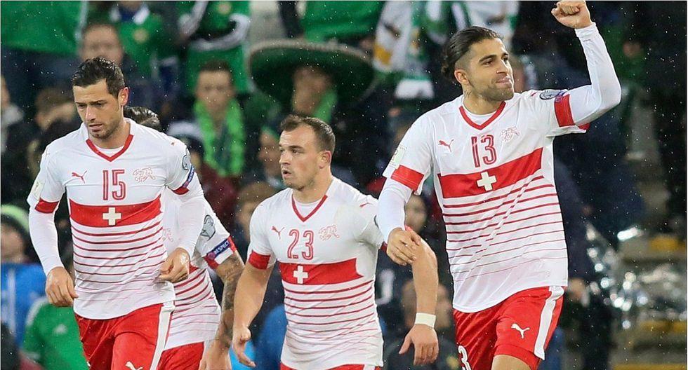 Suiza venció 0-1 a Irlanda del Norte en repesca a Mundial Rusia 2018 (VIDEO)