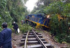 Tren se descarrila cerca de Machu Picchu con pasajeros a bordo (FOTOS)