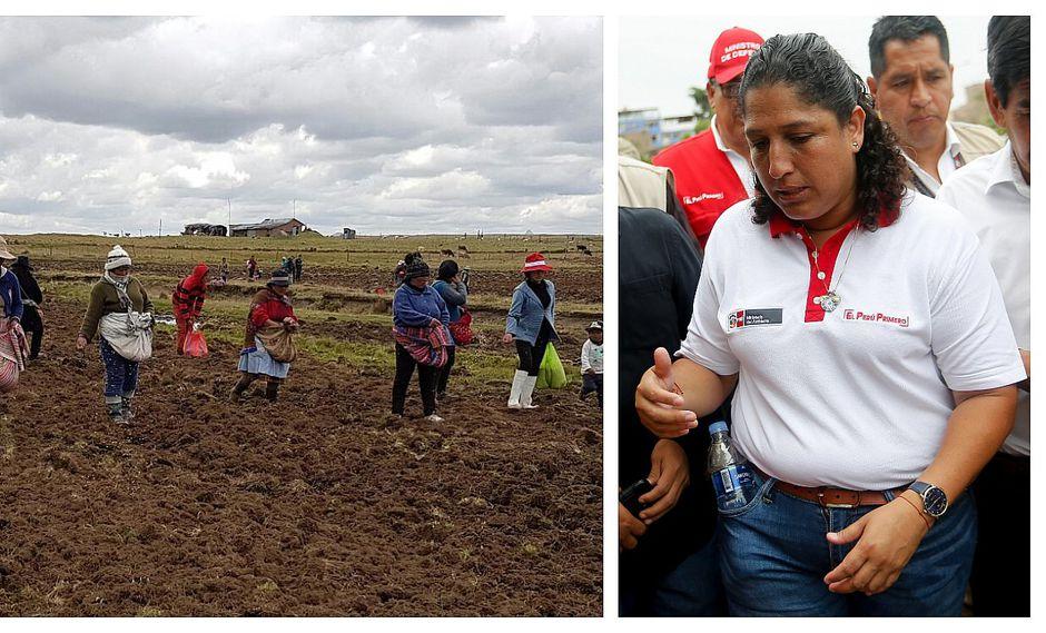 """Fabiola Muñoz: """"Ley de Promoción Agraria debe tener algunos ajustes"""""""