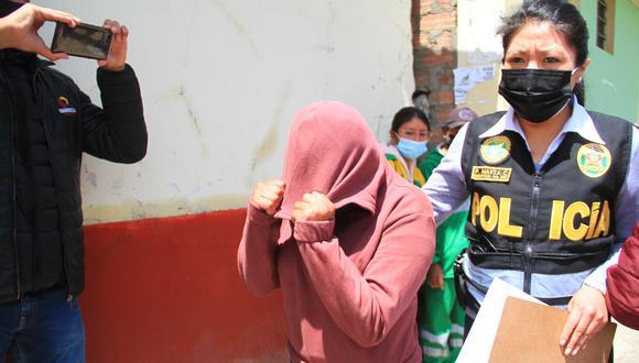 Gracias a la rápida intervención del Escuadrón de Emergencia y la Unidad de Trata de Personas de Huancayo, se logró rescatar a cuatro menores y detener a un varón.