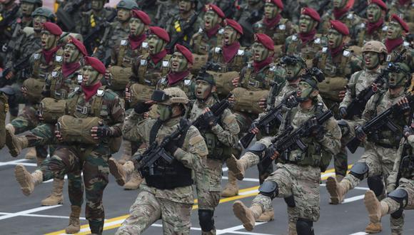 Parada Militar por Fiestas Patrias será realizado el 30 de julio a puertas cerradas en el Cuartel General del Ejército.  (GEC)