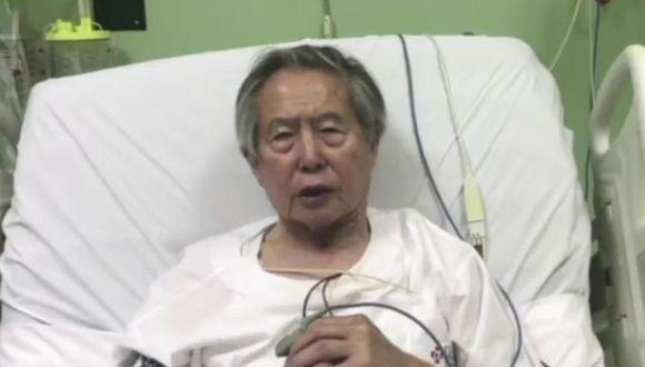 Trasladan a Alberto Fujimori a una clínica local