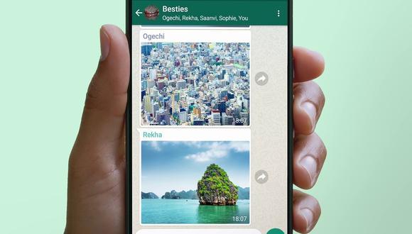 La nueva característica, conocida como 'Ver una vez', se muestra a los usuarios cuando seleccionan una imagen o un vídeo para compartir. (WhatsApp / ARCHIVO / Europa Press)