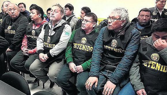 Los Intocables Ediles y Elías Cuba ahora se victimizan y hasta se quiebran en audiencia