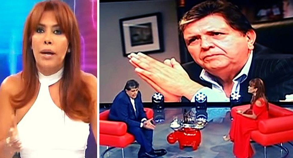 Magaly Medina revela la condición que Alan García le puso a cambio de una entrevista (VIDEOS)