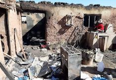 Cusco: niños queman su humilde vivienda mientras preparaban el almuerzo (VIDEO)