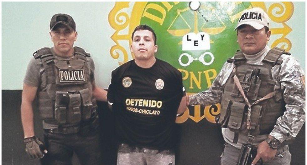 """La Policía captura a """"Lucho"""" miembro de """"Los Marcas de Chocano"""""""