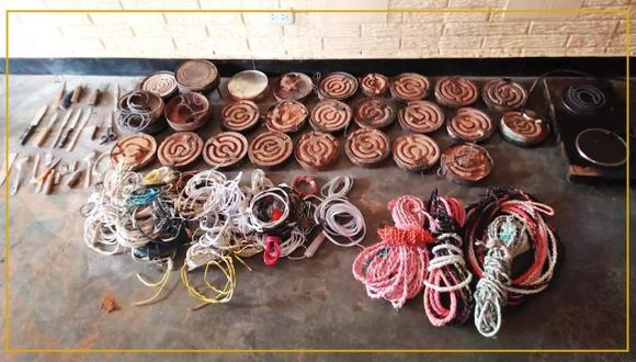 Huánuco: Decomisan 100 metros de cable de luz y 50 metros de soga en penal (Foto: INPE)