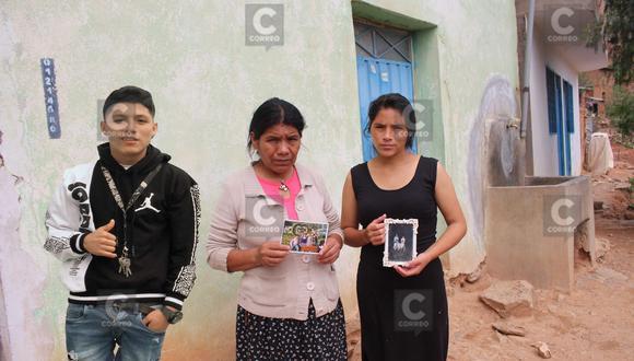 Familia espera llegada de cadáver a Huánuco/ Foto: Edgar Falcón