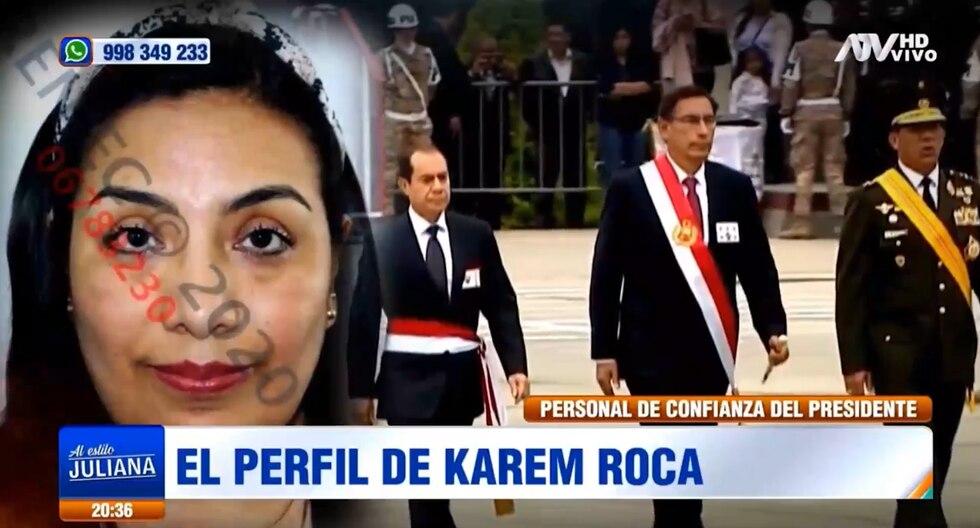 ¿Quién es Karem Roca? Conoce el perfil de la ex asistenta del Despacho Presidencial (VIDEO)