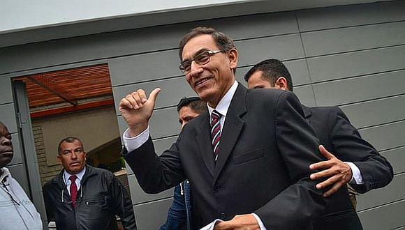 Martín Vizcarra tiene una aprobación de 47%, según el IEP