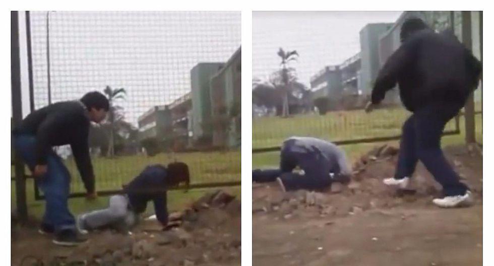 San Marcos: jóvenes se meten debajo de rejas para ingresar al campus (VIDEO)