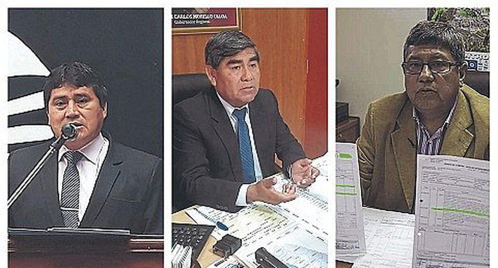 3 funcionarios del GRA en la mira por participar de acto proselitista