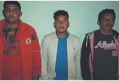 Tumbes: Detienen a tres hombres con arma de fuego