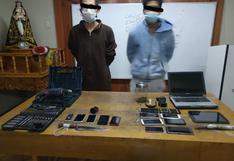 Policías capturan a 2 integrantes de Los Injertos del Oriente