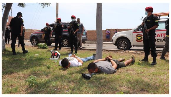 La Policía interviene a un colombiano y dos peruanos, entre ellos una mujer, que estarían involucrados en el atraco a Coolbox.