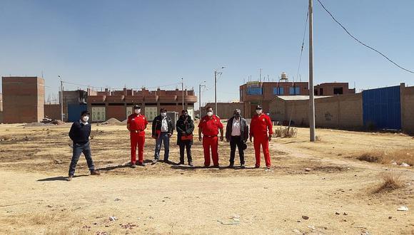 Revisan terrenos para compañía de bomberos de San Miguel
