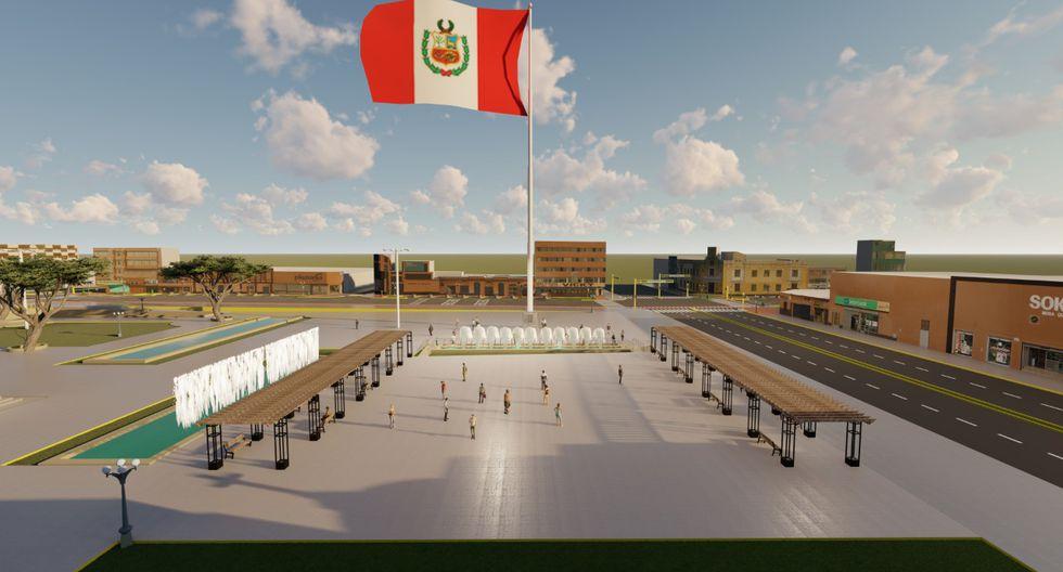 La ceremonia de inauguración de la enorme estructura se llevara a cabo el domingo 2 de febrero. (Foto: Municipalidad de La Victoria)