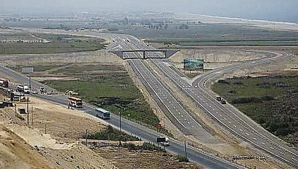 Anuncian inicio de ejecución de doble vía Pisco - Ica