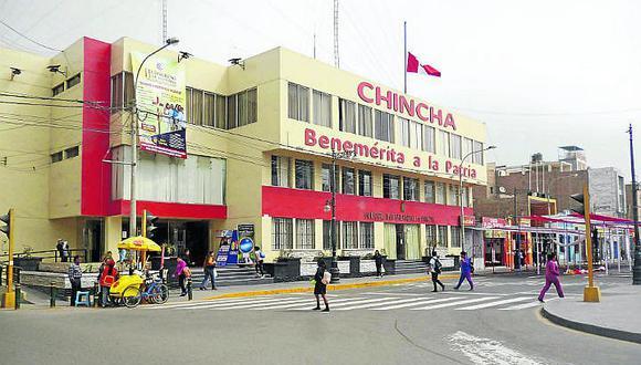 Sunat interviene la Municipalidad de Chincha por falta de pagos