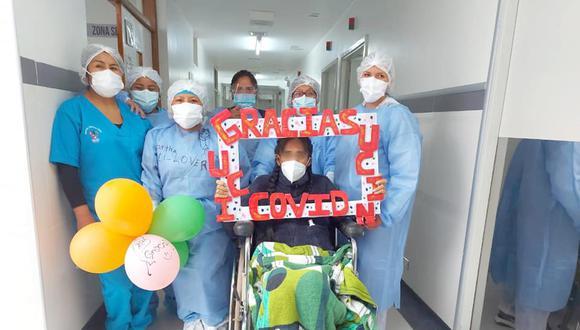 Cusco: la paciente ingresó a cuidados intensivos con 19 semanas de gestación y con riesgo inminente para la salud de ella y su bebé. (Foto: Hospital Regional de Cusco)