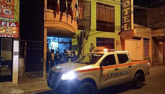 Ica: Realizan operativo a hospedajes del centro de la ciudad