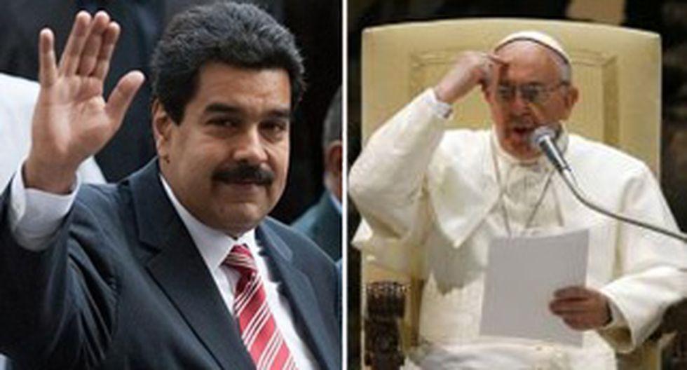 """Nicolás Maduro se compara con el papa: """"No pedí ser presidente"""""""