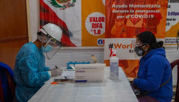 Covid-19: Realizan pruebas moleculares a promotoras comunitarias para prevenir contagio | Foto: World Vision