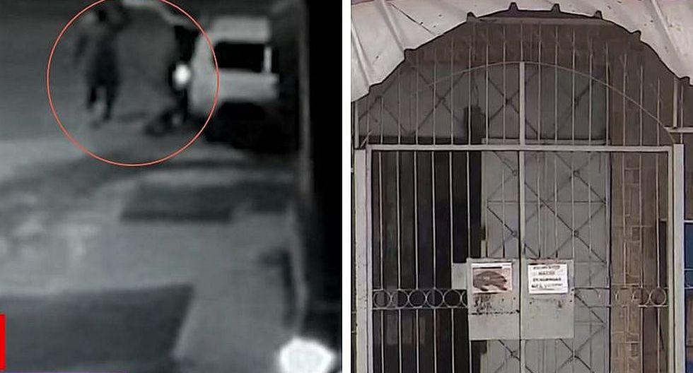 Villa El Salvador: Asaltan cabina de internet en la madrugada (VIDEO)