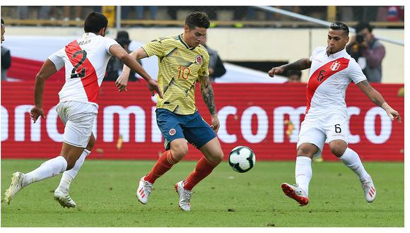 Selección peruana perdió 3-0 con Colombia en el Monumental (VIDEO)