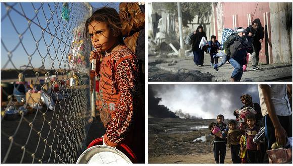 ACNUR urge a países a tratar como refugiados a todos los que huyen de guerra