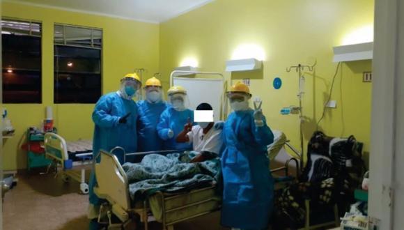 Áncash: veintiún pacientes con respiración mecánica vencen al COVID-19 y salen de UCI
