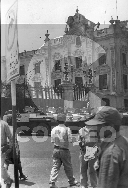 5 de abril: Las imágenes del autogolpe de Alberto Fujimori