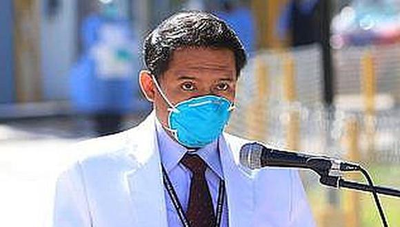 La autoridad del nosocomio también dijo que planteará que policías y militares resguarden el centro médico donde se tratan a enfermos COVID. (Foto: Correo)