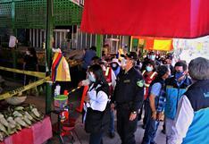 Arequipa: Observan protocolos de sanidad en mercados de Andrés Avelino Cáceres