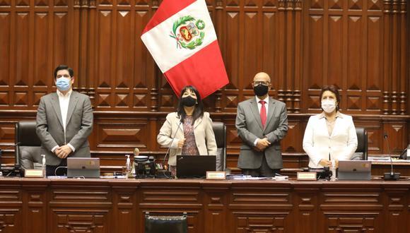 La Mesa Directiva fue elegida el lunes 16 de noviembre del 2020. (Foto: Congreso)