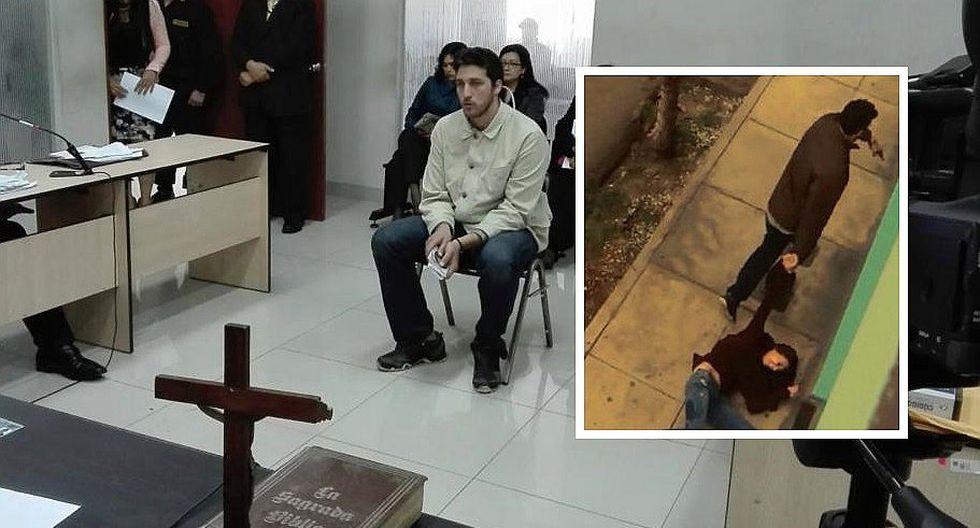 Fiscalía solicitó 22 años de prisión para Martín Camino Forsyth por intento de feminicidio