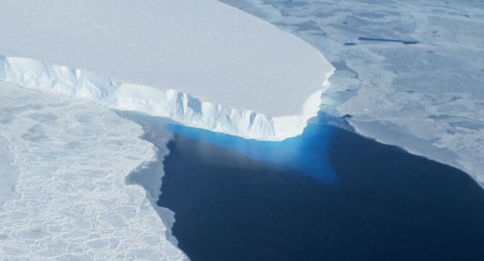 El especialista David Holland señaló que el glaciar está experimentando un retroceso imparable. (Foto: AFP)