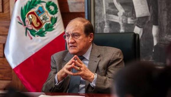 Fernando D'Alessio es el nuevo ministro de Educación. (Foto: Minsa)