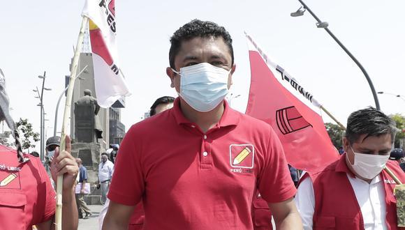 Virtual congresista de Perú Libre ha sido acusado por supuesta filiación con organizaciones terroristas, por lo que se ha iniciado un segundo juicio en su contra. (Foto: GEC)