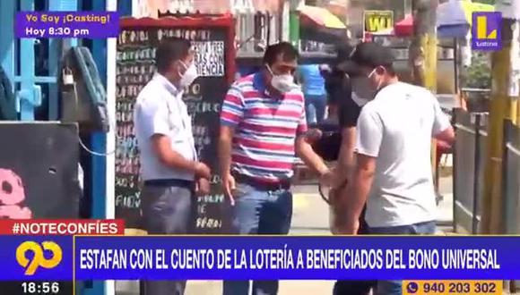 Los malhechores engañaban a sus víctimas para apropiarse del dinero que recibían del Estado para afrontar el golpe económico de la pandemia. | Foto: Latina