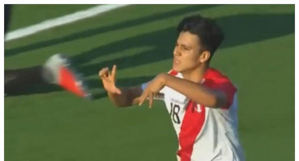 Perú vs Uruguay: Óscar Pinto igualó el marcador a través de un tiro penal (VIDEO)