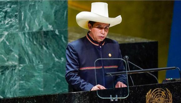 Pedro Castillo, presidente de la República. (Foto: AFP)